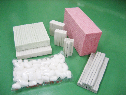紙製発泡体の例
